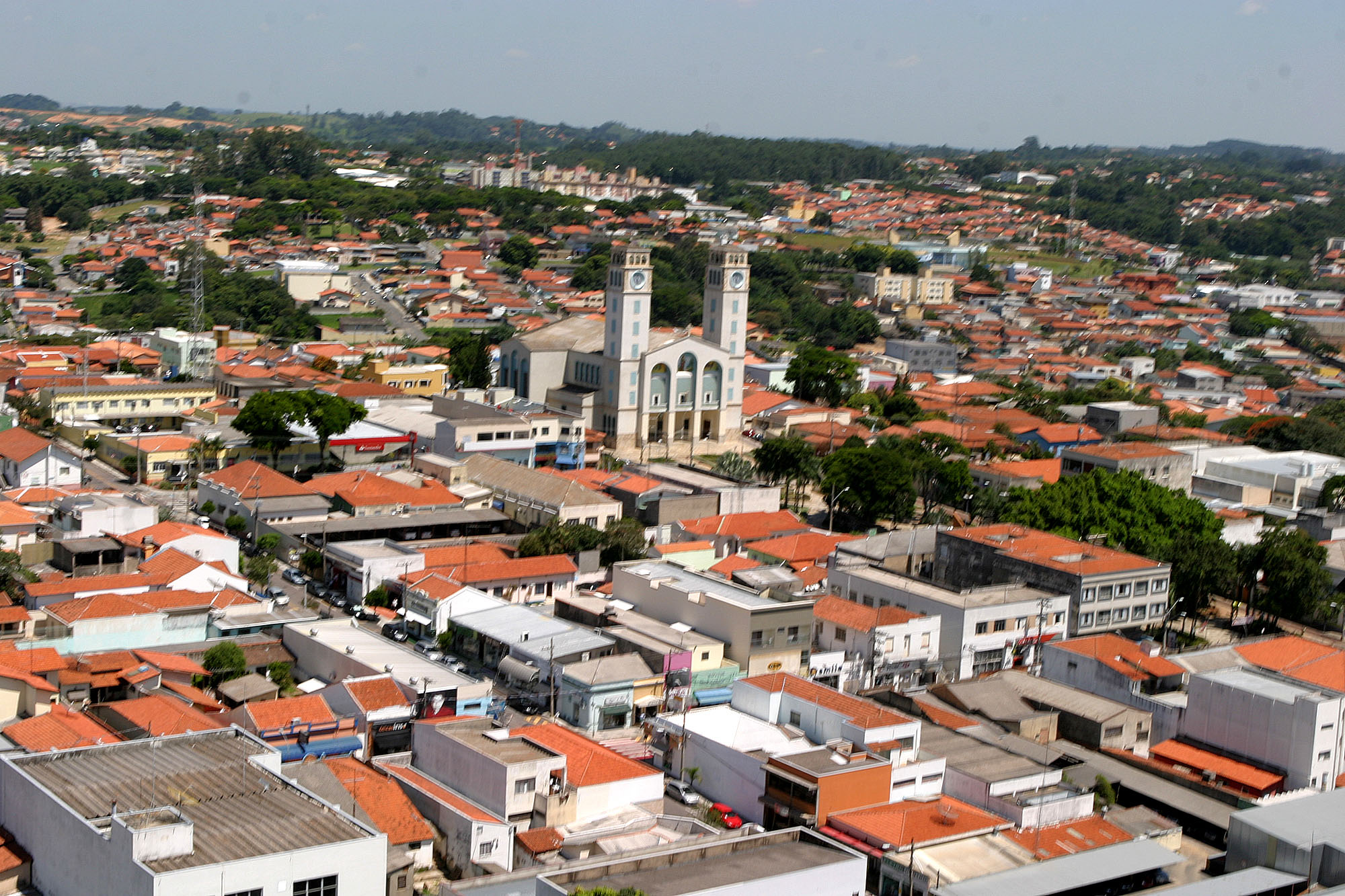 Vinhedo interior de São Paulo